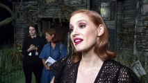Jessica Chastain hits out at IT co-star Bill Hader!