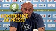 Conférence de presse Paris FC - FC Chambly (0-3) : Mecha BAZDAREVIC (PFC) - Bruno LUZI (FCCO) - 2019/2020