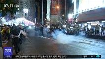 '홍콩 시위' 2차 총파업…도로 점거·체포 잇따라