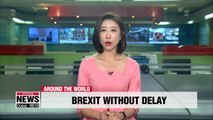 UK PM Boris Johnson says UK will leave EU on October 31st with no delay
