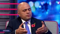 Sajid Javid say there will be 'transition' for EU workers in a no deal Brexit