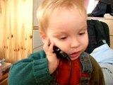 Dorian avec mamie au téléphone (suite et fin)