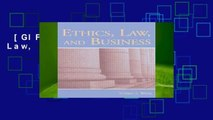 [GIFT IDEAS] Ethics, Law, and Business