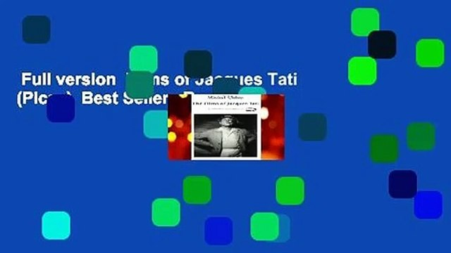 Full version  Films of Jacques Tati (Picas)  Best Sellers Rank : #1