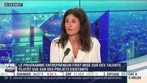 Start-up : Coralie Chaufour est l'invitée de Christophe Jakubyszyn - 03/09