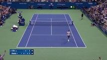 Nadal's round the net post magic