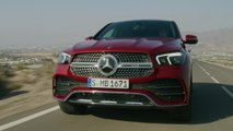 Mercedes-Benz GLE 4MATIC Coupé Driving Video