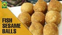 Delicious Fish Sesame Balls  | Evening With Shireen | Masala TV Show | Shireen Anwar
