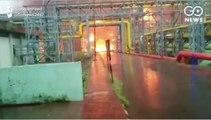 Fire At ONGC Plant In Navi Mumbai