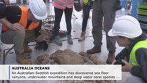 Expedition uncovers deep-sea corals, mountains, chasms in Coral Sea