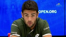 "US Open 2019 - Matteo Berrettini : ""It's not a revelation that I'm here, it's more like work"""