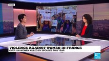 Violence against women in France: Over 100 women killed by spouses this year, gov't to push measures