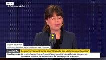 """Violences conjugales : """"Nous avons besoin d'un milliard d'euros sur ce quinquennat"""", affirme l'avocate Sophie Soubiran"""