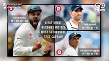 Virat Kohli Becomes India's Most Successful Test Captain