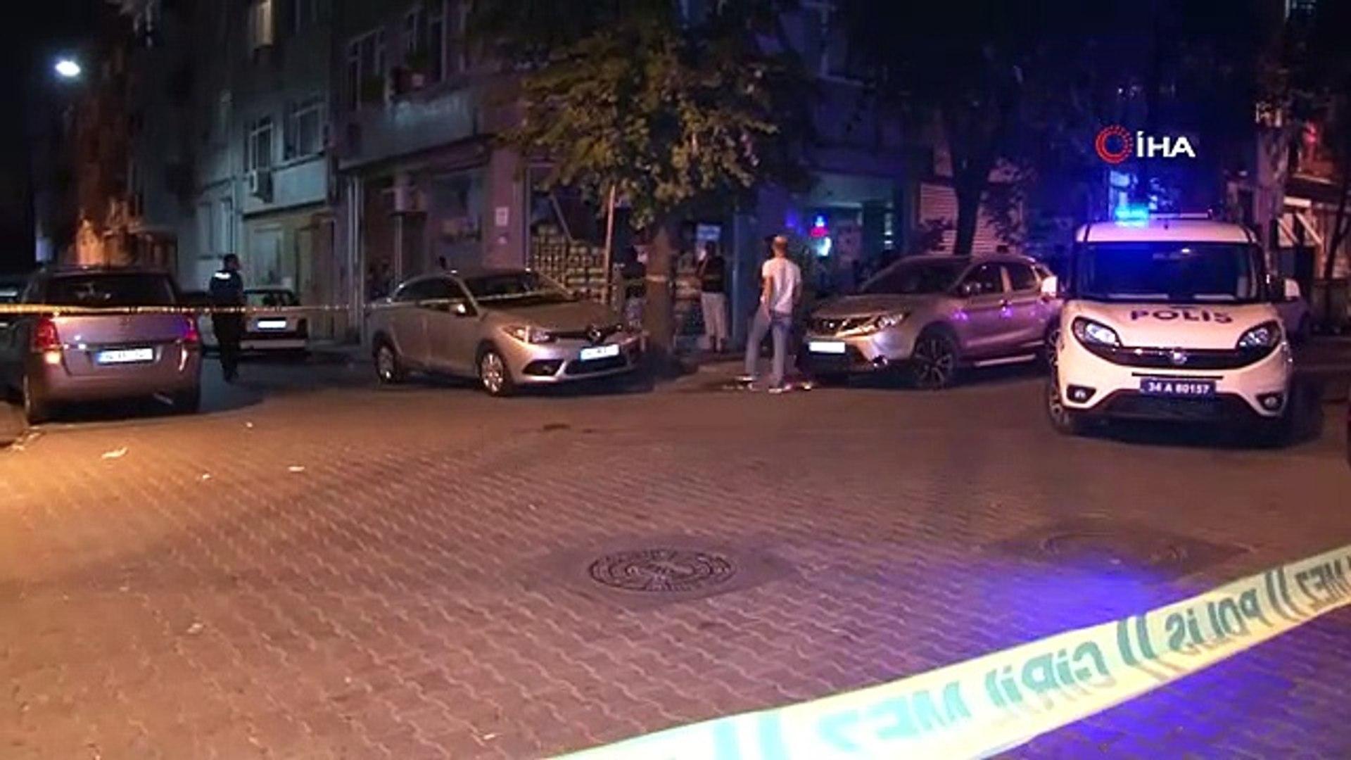 Fatih'te 18 yaşındaki gence silahlı saldırıda anı kamerada - Haber