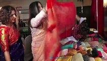 Shabana Azmi ,Bhagyashree Grace Exhibition Of Looms By Shraddha Sawant
