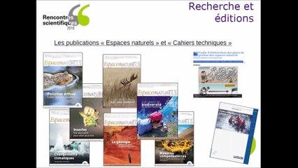 Rencontres scientifiques 2016 : Les collaborations avec la recherche dans les missions de l'Aten - Céline Sanchis