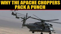 IAF adds muscle to its fire power with induction of Apache helicopters|OneIndia News