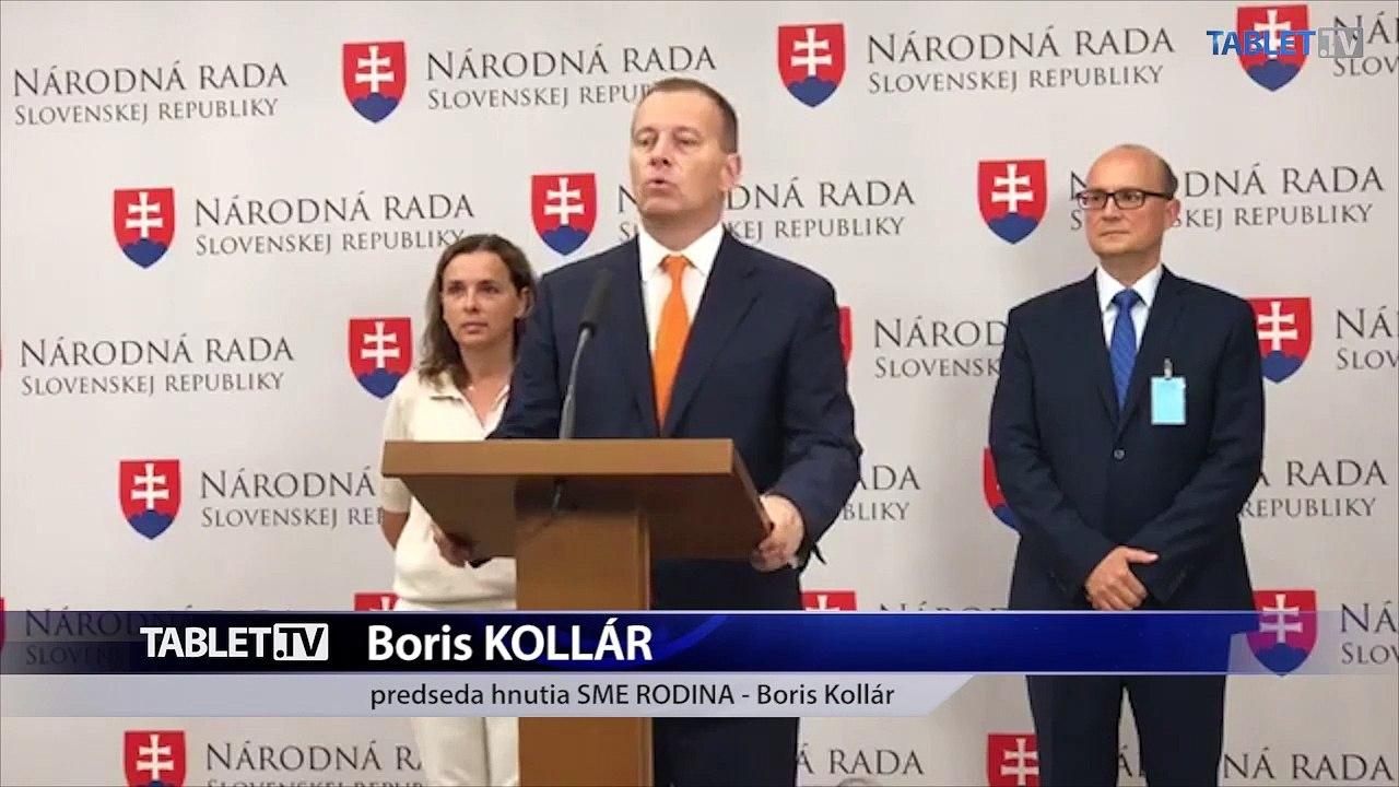 ZÁZNAM: TK hnutia Sme rodina - Boris Kollár