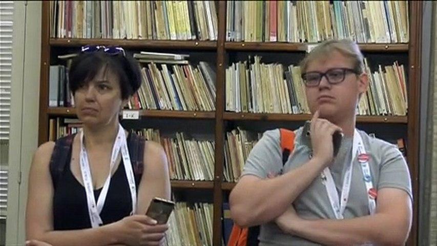 Ξένοι βιβλιοθηκονόμοι στη Δημόσια Κεντρική Βιβλιοθήκη Χαλκίδας