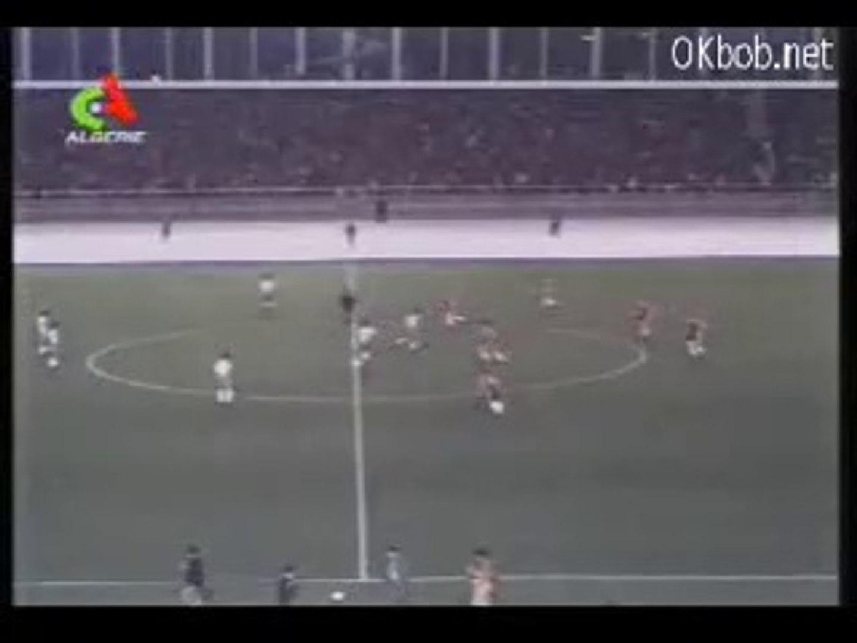 1983 - Match Algérie - Nottingham Forest 3-1, 1MT