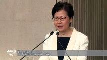 Chefe de Governo de Hong Kong nega intenção de renunciar