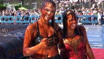Saucy! World Gravy Wrestling Championships sees competitors get down and dirty