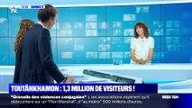 Toutânkhamon : 1,3 millions de visiteurs - 03/09