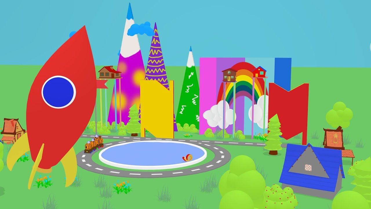 Animal Train – Train Cartoon – Kids Videos for Kids – Toy Train Videos – Trains Toy Cartoon