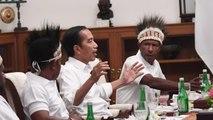 Papua Mulai Adem, Anak Buah Prabowo Ditahan, Jokowi Makan-makan dengan Tokoh Papua