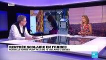 """Rentrée scolaire en France: """"Il faudrait créer une école dès le lycée qui serait presque une pré-université"""""""