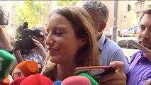 """Andrea Levy sobre la imputación de Aguirre y Cifuentes: """"No pongo las manos en el fuego por nadie"""""""