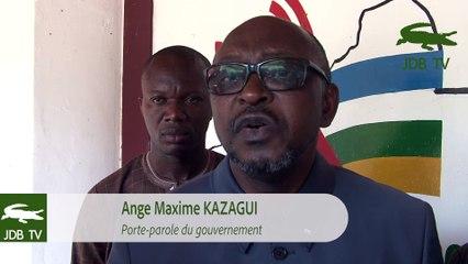 Entretien avec Ange Maxime Kazagui, porte parole du gouvernement Centrafricain