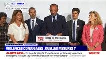 """Édouard Philippe: """"Nous allons généraliser la possibilité de porter plainte à l'hôpital"""" dans le cadre de violences conjugales"""