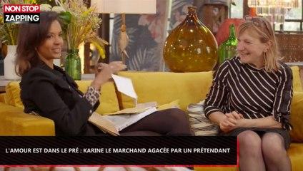 L'amour est dans le pré 2019 : Karine Le Marchand agacée par la lettre d'un prétendant (Vidéo)