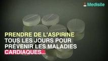L'aspirine en prévention, déconseillée chez les plus de 70 ans