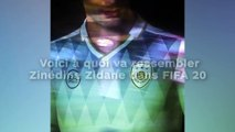 Voici à quoi va ressembler  Zinédine Zidane dans FIFA 20 !