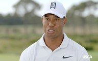 Tiger Woods Discusses Winning Three Straight U.S. Amateur Titles