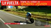 Alejandro Valverde - Étape 10 / Stage 10 | La Vuelta 19
