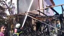 Suluova'da depo yangını - AMASYA