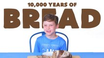Kids Try 10,000 Years of Bread