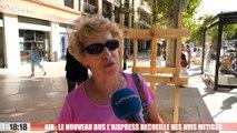 Aix-en-Provence : le nouveau bus l'Aixpress recueille des avis mitigés