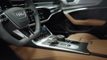 The new Audi RS 6 Avant Interior Design