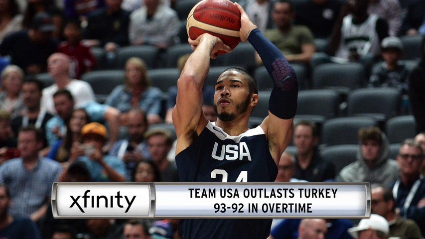 Xfinity Report: Jayson Tatum Injured In USA's Win Over Turkey