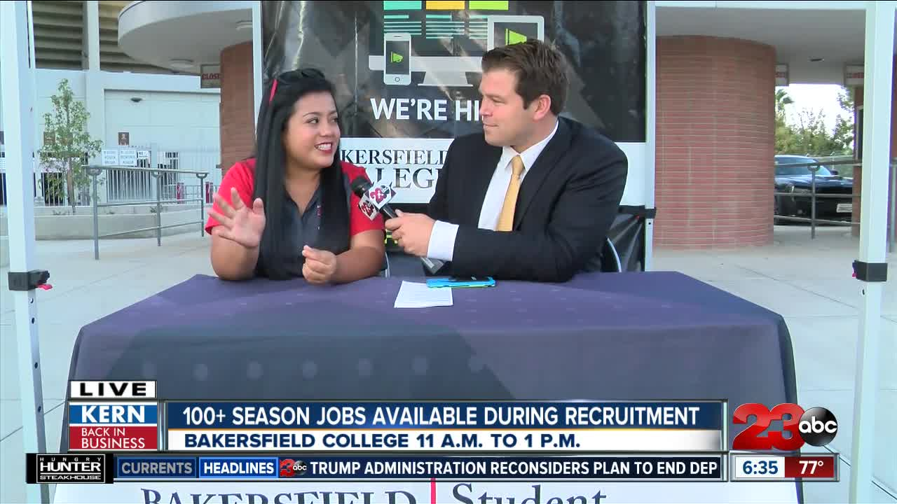 Kern Back In Business: 100+ jobs available during Bakersfield College holiday jobs recruitment