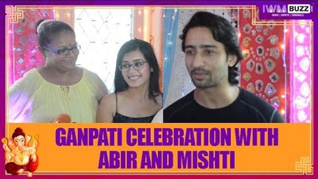 Ganpati celebration with Yeh Rishtey Hain Pyaar Ke's Abir and Mishti