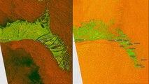 Avant/après l'ouragan Dorian : les dégâts aux Bahamas vus par satellite
