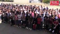 VIDEO. Poitiers : rentrée en fanfare pour les collégiens de Ferdinant Clovis Pin