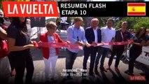 Resumen Flash - Etapa 10 | La Vuelta 19