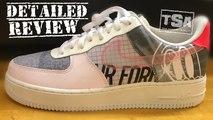 Nike AF1 Low Print Culture Light Soft Pink Flash Crimson Pure Platinum Sail Sneaker Review